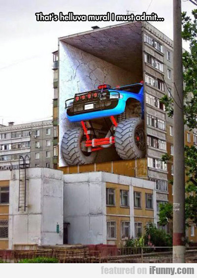 that's one hell of a mural...