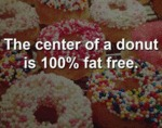 The Center Of A Doughnut Is...