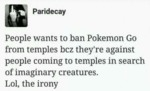 People Want To Ban Pokemon...
