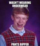 Wasn't Wearing Underwear...