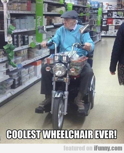 Coolest Wheelchair Of All Time...