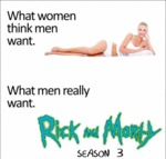 What Men Think They Want...