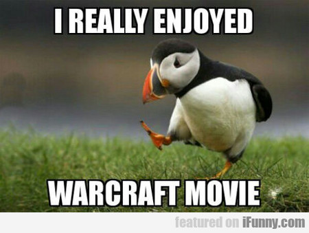 I Really Enjoyed Warcraft Movie...
