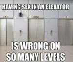 Having Sex In An Elevator...