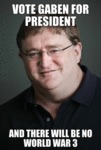 Vote Gaben For President...