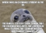 When I Was An Exchange Student...