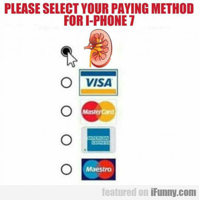 how to pay for iphone7
