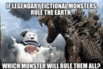 If Legendary Fictional Monsters Ruled Earth...