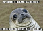 My Parents Took Me To A Therapist...