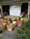 Kids Birthday Party Idea