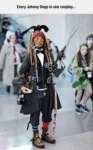 Every Johnny Depp Cosplay...