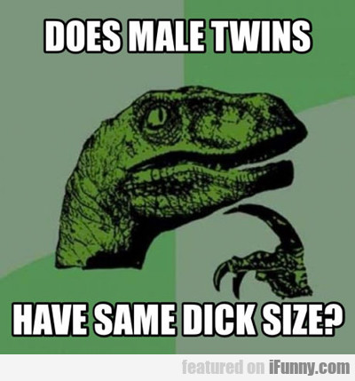 does male twins...