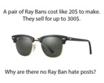A Pair Of Ray Bans...