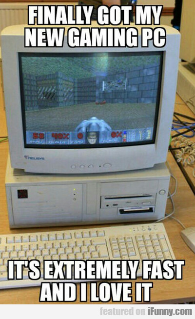 Finally Got My New Gaming Pc...