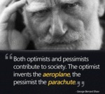 Both Optimists And Pessimists...