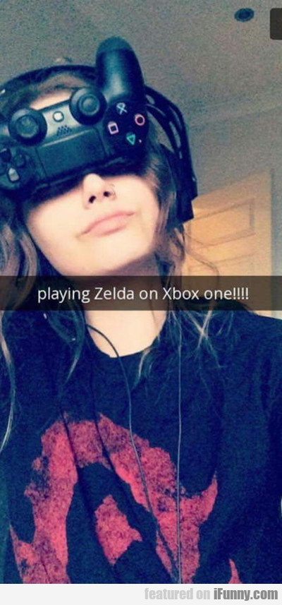 Playing Zelda On The Xboxone...