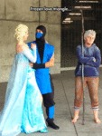 Frozen Love Triangle...