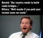 Donald: We Need Roads And Bridges...