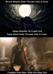 Bruce Wayne Gets Trapped In A Cave...