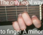 The Only Legal Way...