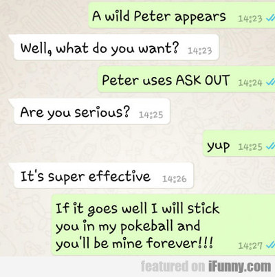 A Wold Peter Appears...