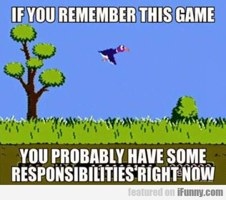 If you remember this game you probably..