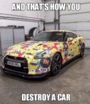 And That's How You Destroy A Car...