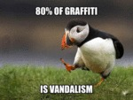 80% Of Graffiti Is Vandalism...