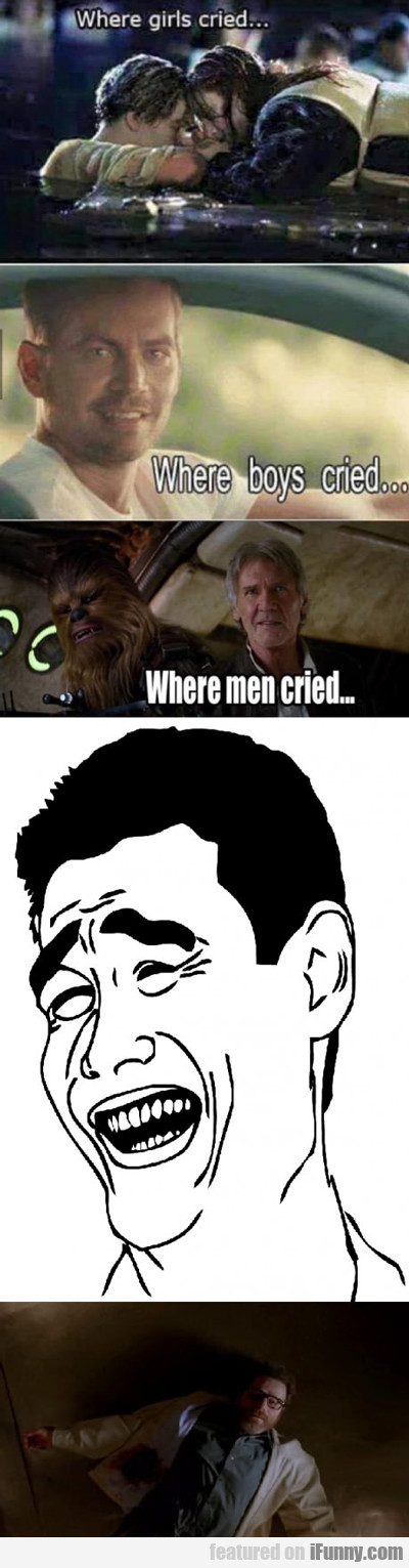 Where Girls Cried...