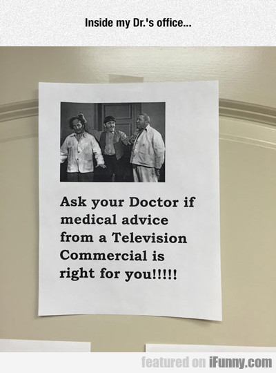 Inside My Doctor's Office...