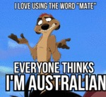 I Love Using The Word Mate...