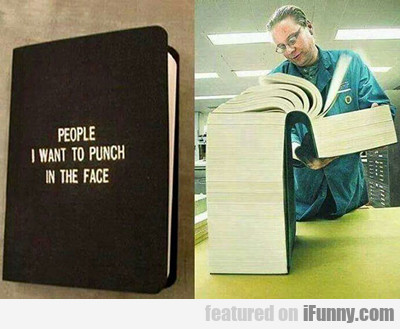 People I Want To Punch In Their Face...
