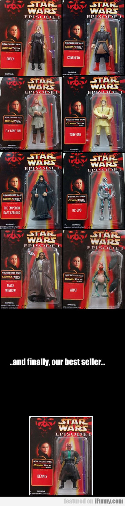Star Wars Knock Offs...