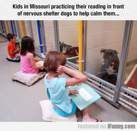 Kids In Missouri Practicing Their Reading