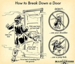 How To Break Down A Door