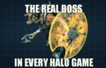 The Real Boss In Every Halo Game...