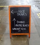 Nice Drinks Or Maybe Bears...