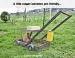 A Little Slower But More Eco-friendly...