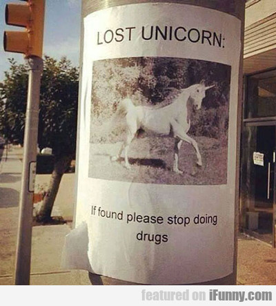 Missing Unicorn...