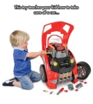 Toy Teaches Your Kid How To Take Care Of A Car