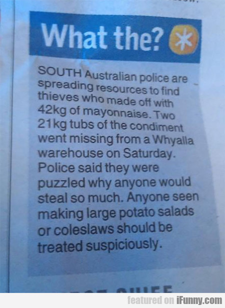 South Australian Police Are Spreading Resources...