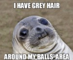I Have Gray Hair...