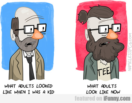 What Adults Looked Like