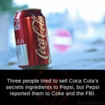 Someone Tried To Sell The Coke Recipe...