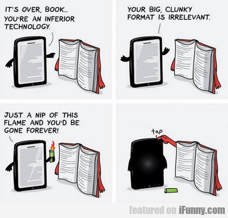 it's over, book...