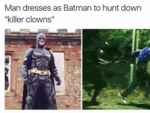 Man Dresses As Batman...