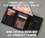 I Found Someone's Wallet Today...