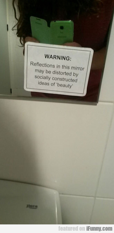 Reflections In This Mirror...