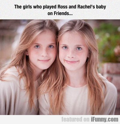 The Twins From Friends...
