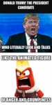 Donald Trump Is Like Anger...